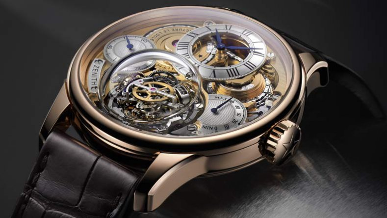 You Will Love The Zenith Academy Christophe Colomb Hurricane Tourbillon Rose Gold Timepiece