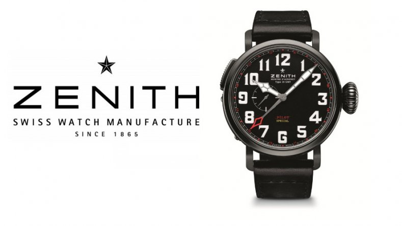Zenith Pilot Montre d'Aéronef Type 20 GMT Red Baron Replica watch