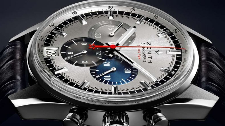 The Luxury Chrnogrpah Replica Zenith El Primero 36'000 VpH Steel Watch