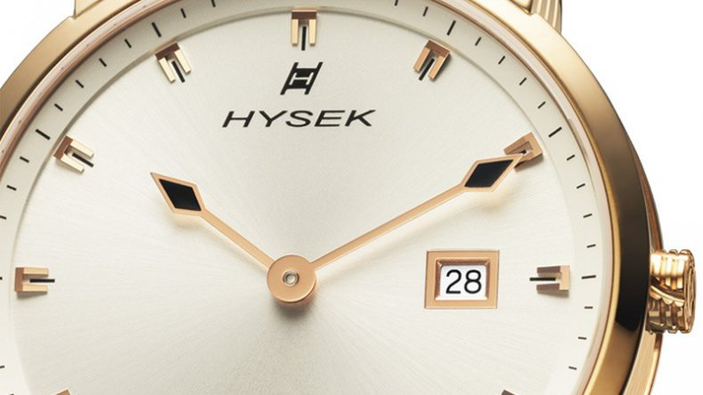 Reviewing The Sober Design Hysek IO Grande Classique Automatic Rose Gold White Dial Fake Watch