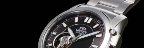 Orient Sporty Automatic Open Engine Watch