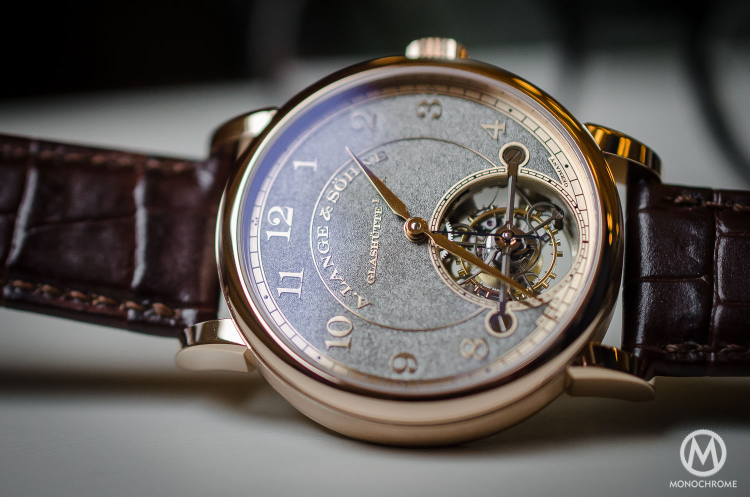 A. Lange & Sohne 1815 Tourbillon watch replica