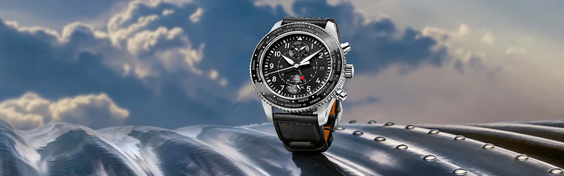 IWC Pilot's Watch Timezoner Chronograph in Stainless Steel