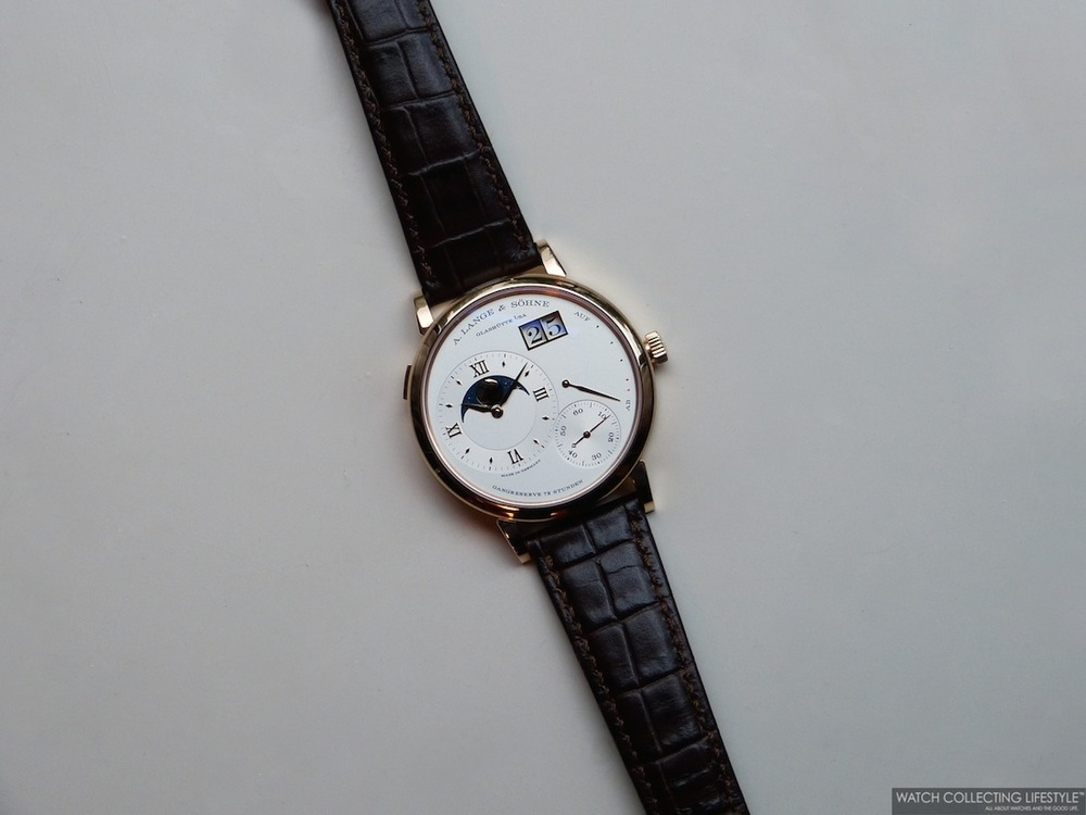 A. Lange & Söhne Grand Lange 1 MoonPhase Watch Replica