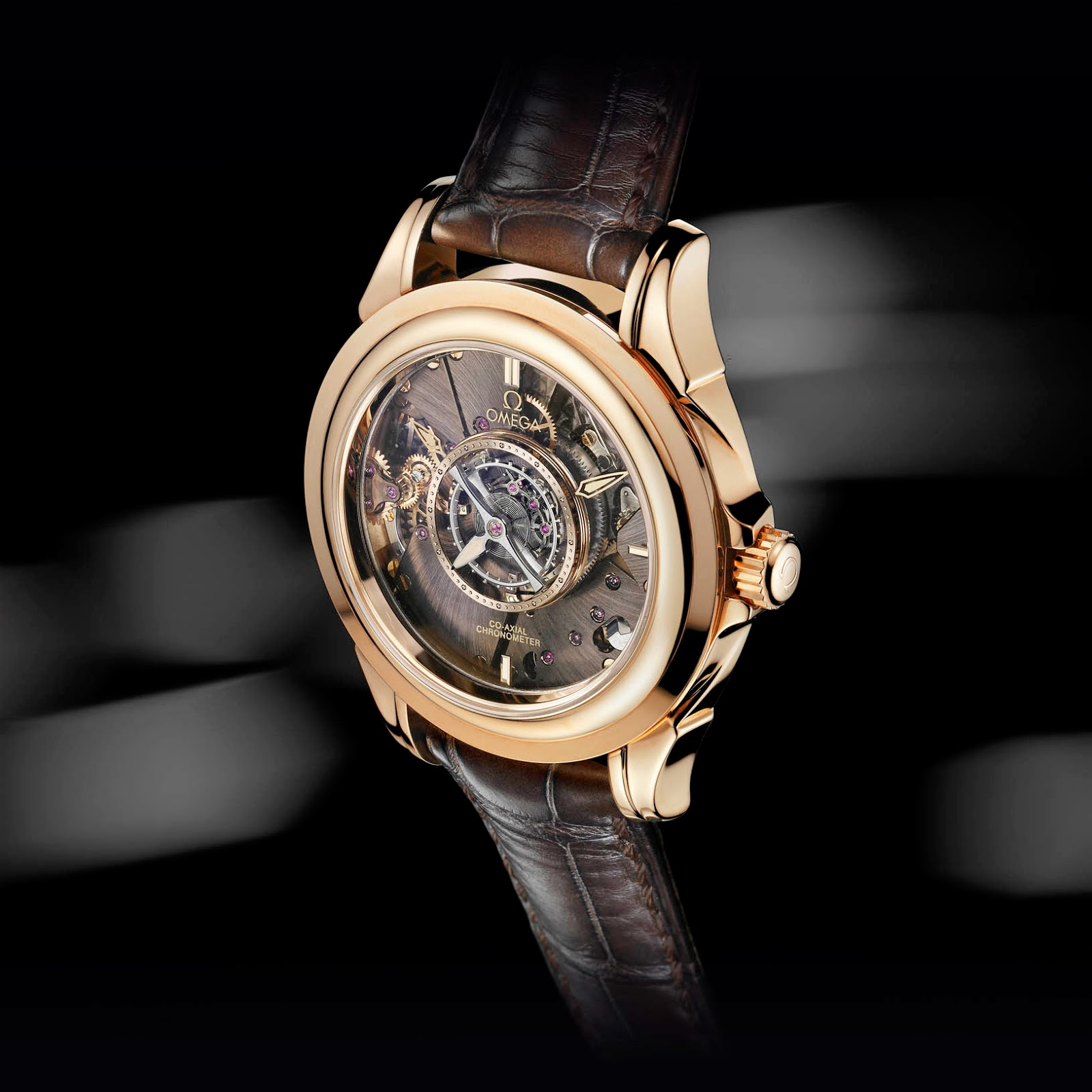 Omega De Ville Central Tourbillon Co-Axial Chronometer watch replica