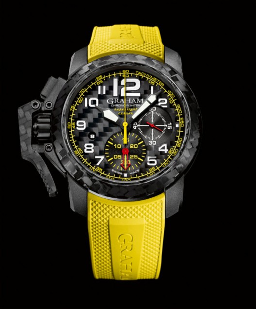 Graham Chronofighter Oversize Superlight Carbon replica