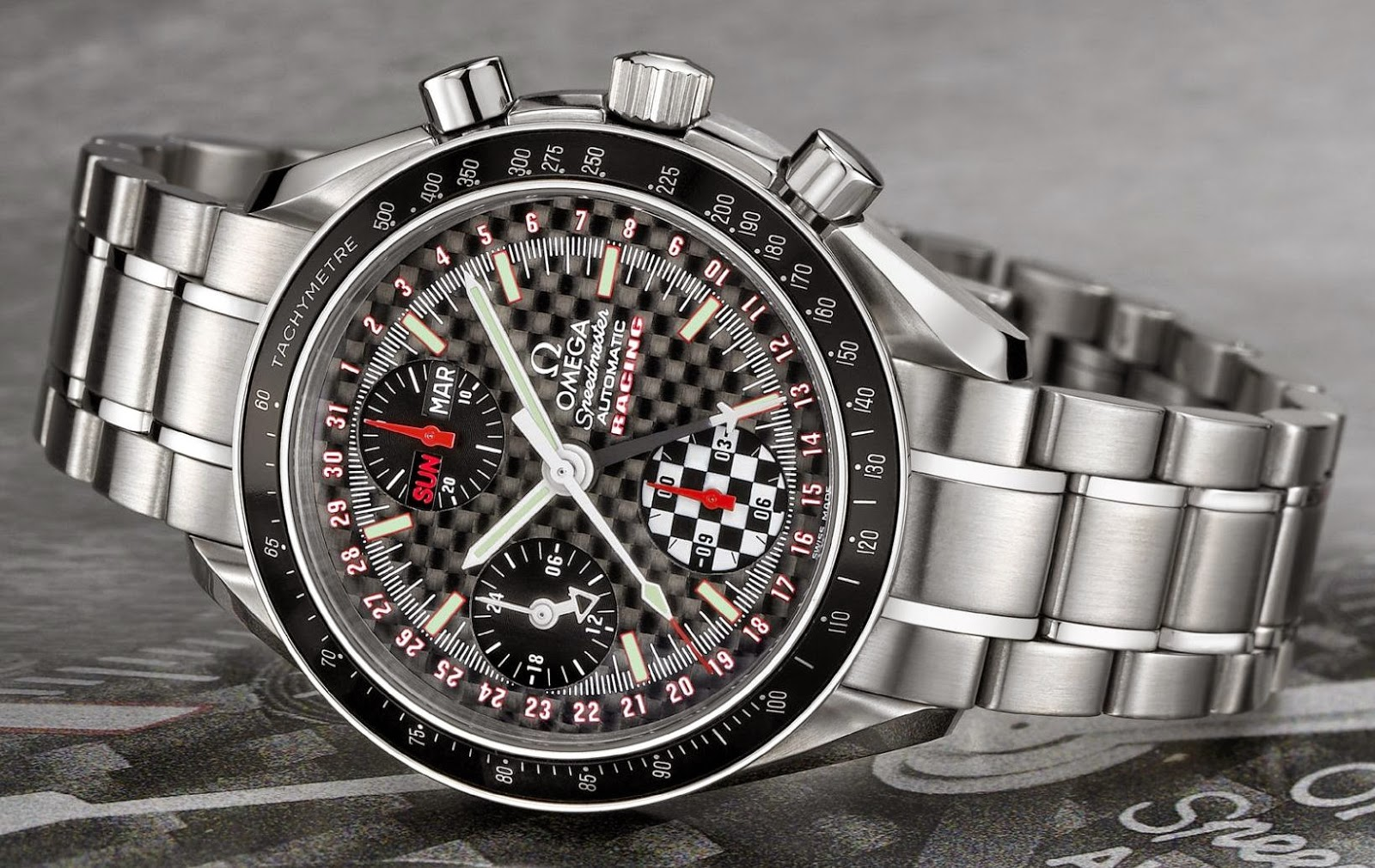 Omega Speedmaster Day-Date Racing watch replica