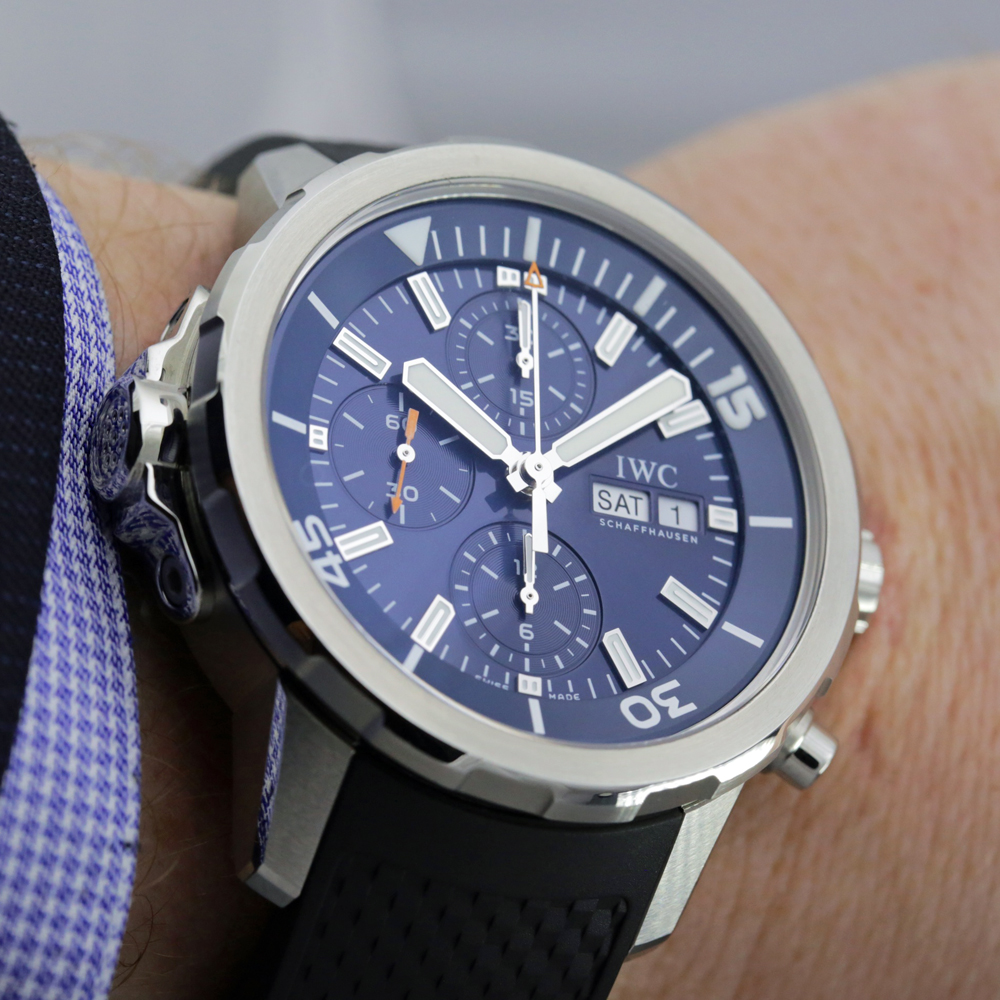 "IWC Aquatimer Chronograph Replica Edition ""Expedition Jacques-Yves Cousteau"