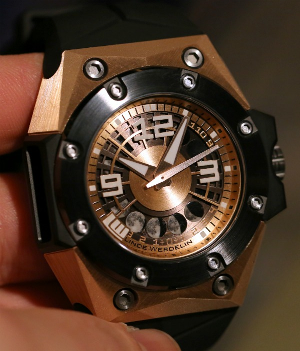 Linde Werdelin Oktopus II Moon Moonphase watch replica