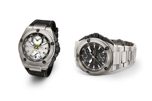 Titanium IWC Ingenieur Chronograph Replica watch