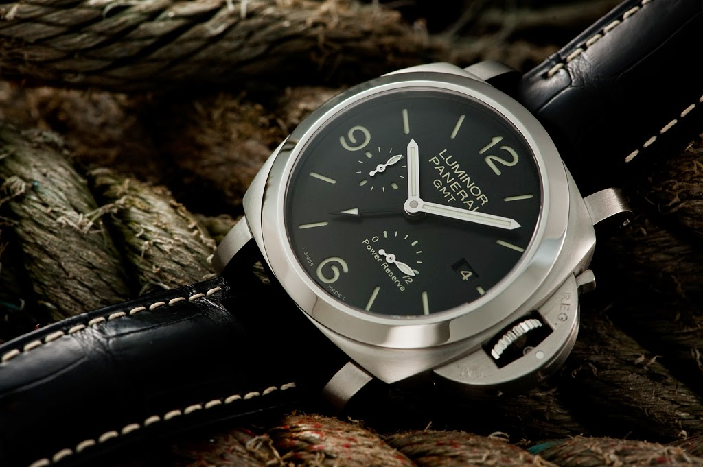Panerai Luminor 1950 3 Days GMT Power Reserve Automatic replica
