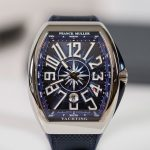 Franck Muller Yachting collection Blue Dial Vanguard Replica