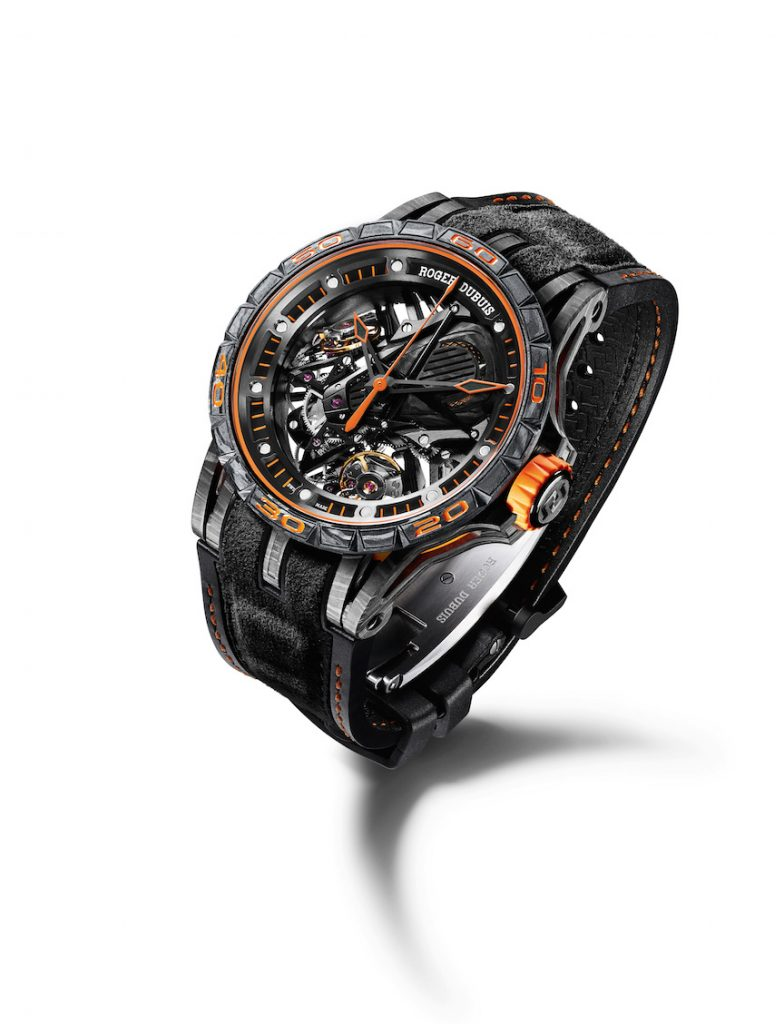 Roger Dubuis Excalibur, recently introduced model, remains an icon for the brand.