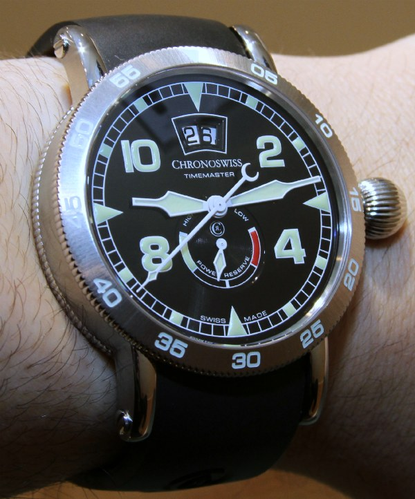 Chronoswiss Timemaster Big Date Power Reserve Watch Hands-On