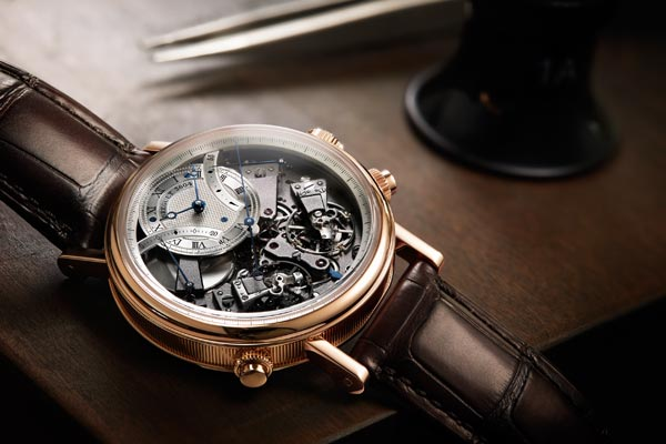 Tradition independent chronograph