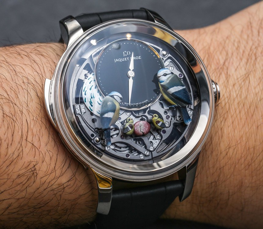 Jaquet Droz Bird Repeater Watch Revisited: A Classic Luxury Of Modern Proportions Hands-On