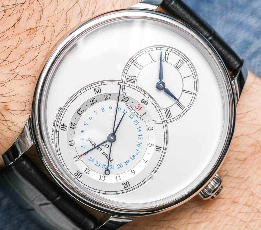 Jaquet Droz Grande Seconde Dual Time Watch Hands-On Hands-On