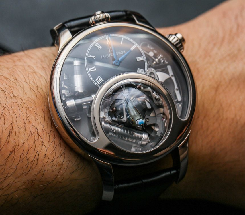 Jaquet Droz Charming Bird Final Version Watch Hands-On With Singing Bellows Hands-On