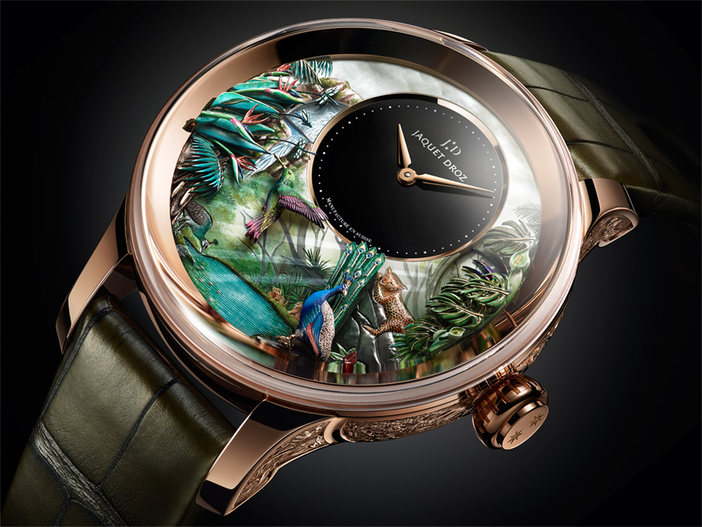 Jaquet Droz Tropical Bird Repeater Watch Watch Releases