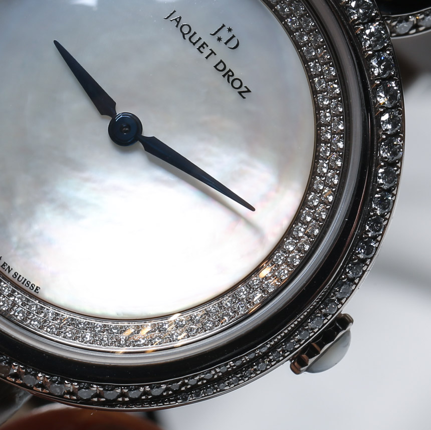 Jaquet Droz Lady 8 Watch Hands-On Hands-On