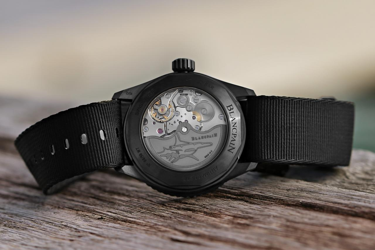 The Blancpain Mokarran Limited Edition Is A Time-Only Bathyscaphe For Hammerhead Shark Conservation Fake Watch Releases
