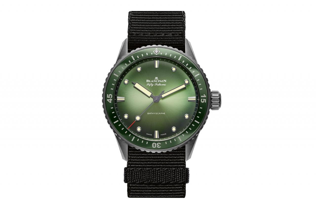 The Blancpain Bathyscaphe Mokarran Limited Edition Replica watches
